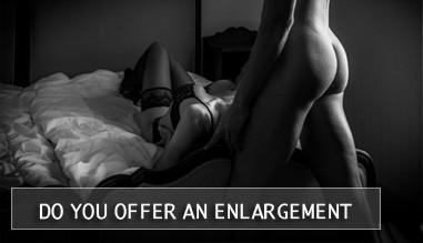 Do you offer an enlargement